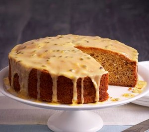 banana-cake-with-passionfruit-icing